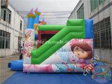 Doraの普及した膨脹可能な弾力がある家か膨脹可能なコンボのスライド