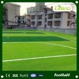 運動場の小型フットボールのサッカー競技場の人工的な草