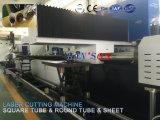 Heiße Verkaufs-Edelstahl-Gefäß-u. Blatt-Faser-Laser-Scherblock-Laser-Ausschnitt-Maschine