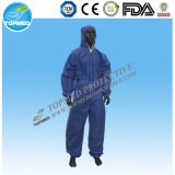 Устранимый Coverall PP Nonwoven (TO01B)