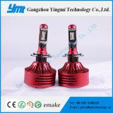 Peças de carro LED H4 Auto farol 25W LED cabeça lâmpada