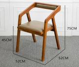 Restaurante moderno del hotel que cena la silla de cena de madera de los muebles (HC-LW205)