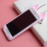 Caja suave linda del teléfono celular del silicio ultra fino para el iPhone 7/7 más
