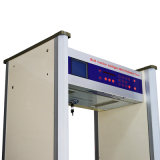8/10zones金属探知器Jkdm-800Aを通る大きいLCDスクリーンの歩行