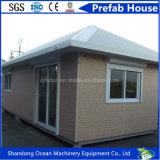 중국 호화스러운 저가 빛 강철 프레임 조립식 집 모듈 집 자동차 집