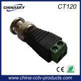 CCTV Connecteur mâle BNC avec borne à vis (CT120)
