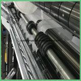 Machine de fente à grande vitesse de papier de roulis de film plastique