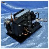 Hohe Integration Gleichstrom-kondensierendes Gerät mit Minikompressor für Mini-Gekühltes Wasser-System