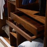 Kundenspezifische Kirschhölzerner Schlafzimmer-Garderoben-Wandschrank (GSP9-022)