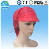 Chaud ! Chapeau non-tissé remplaçable d'ouvrier avec la crête de l'usine de Xiantao