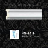 Coin d'unité centrale de plafond de polyuréthane de longerons de présidence d'unité centrale moulant Hn-8619