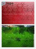 명확하고, 빨강, 파랗고, 녹색, 노란 식물상에 의하여 계산되는 장식무늬가 든 유리 제품 (CP-FP)