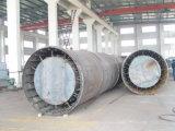 Secador de cilindro giratório para fertilizantes
