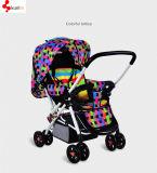 De comfortabele Kinderwagen van de Baby