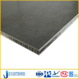 Schwarzes Steinmarmoraluminiumbienenwabe-Panel für Baumaterialien