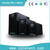 UPS en línea de alta frecuencia la monofásico con 1kVA a 20kVA