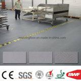 Étage fermé de vinyle de mousse de plancher commercial antidérapage de PVC pour l'entrepôt 1.2t d'industrie