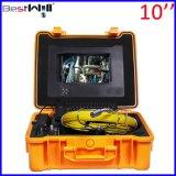 Сделайте камеру водостотьким Cr110-10g осмотра трубы сточной трубы 23mm с экраном 10 '' цифров LCD с кабелем стекла волокна от 20m до 100m