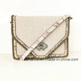 Новым сумки шнурка повелительницы PU конструктора стильным сплетенные украшением (NMDK-063002)