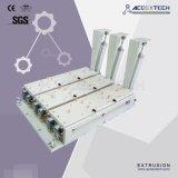 기계를 만드는 3개의 구멍 PVC 천장 단면도