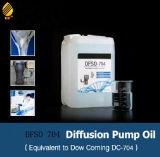 Égale de l'huile de silicone 704 de pompe de diffusion de vide poussé à dc 704