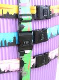 Напечатанная планка багажа полиэфира жаккарда Nylon с пластичными пряжками