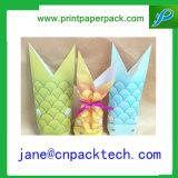 Sac coloré de cadeau de papier de sac de modèle de mode d'OEM