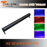 RGBW impermeabilizan la luz de /Bar de la luz de la arandela de la pared del LED