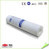 Cartucho de filtro gordo de los PP en circuito de agua del RO