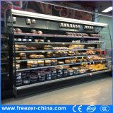 110V Multideckの食料雑貨品店のための空気カーテンが付いている開いた表示ビールクーラー