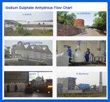 en el sulfato de sodio de calidad superior de las existencias a granel 99.5% CAS anhidros 7757-83-7