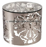Luxury Design Round Glass Coffee Table for Sale
