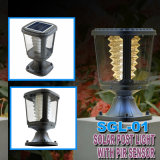 Impermeável Solar Powered LED Pillar Lights Ce para Garden Pool