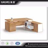 간단한 색깔에 의하여 주문을 받아서 만들어지는 사무실 테이블, 매니저 책상 & 행정상 테이블