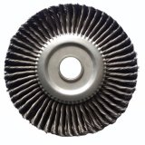 Щетка колеса стального провода для полировать