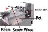Pfe-600 sartén con mucha grasa, sartén profunda de la inducción, sartén de la presión de gas