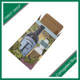 Doppel-wandiger Recylable faltbarer Farben-Drucken-Wein-Karton-Verpackungs-Kasten