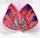 Jogo de escova de venda quente da composição do saco do escudo 10PCS