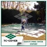 Tampa de segurança durável da piscina para a associação interna
