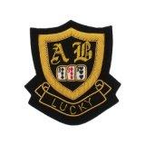 Distintivo militare del ricamo di obbligazione dell'esercito su ordinazione