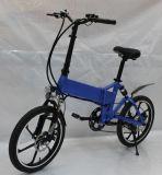 隠れる電池が付いている電気Eのバイクを折る20インチ