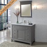 Cabina de cerámica integrada del baño de la vanidad del cuarto de baño del lavabo de Fed-1537A