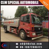 Camion della petroliera del camion di rifornimento di carburante di Foton Auman 15m3 16m3