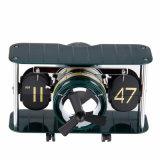 Orologio della Tabella dello scrittorio di figura dell'aeroplano dell'orologio di vibrazione retro