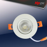 O diodo emissor de luz do poder superior da ESPIGA ilumina-se para baixo