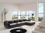 新しい到着L形の革ソファーの現代居間のソファー(UL-NSC001)