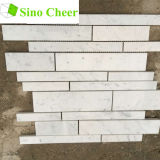 Плитки мозаики Carrara самого лучшего качества белые мраморный для кухни Backsplash & ванной комнаты