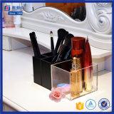 Tribune van de Make-up van het Plexiglas van de Organisator van de Kubus van de manier de Acryl Kosmetische