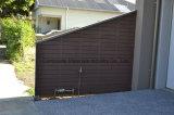 Cerca antiderrapagem ao ar livre cinzenta do composto 88 plásticos da madeira contínua