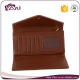 Бумажник женщин бумажника габарита PU верхнего качества оптовой цены способа дешевый кожаный